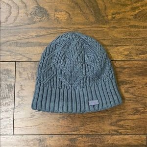 Under Armour blue/gray winter hat